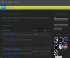 forum dark - Download source code Forum dengan PHP dan MySQL - dark edition