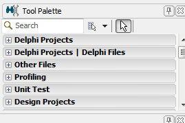 tool palette delphi - Tutorial Delphi : Membuat Aplikasi Penghitung Gaji Karyawan