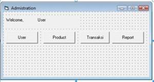 adminfrom 1 300x160 - Tutorial Insert, Edit & Delete Data Tabel dengan Visual Basic