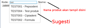 form autocomplete 300x99 - Autocomplete: Memberi Sugesti Saat User Input Data