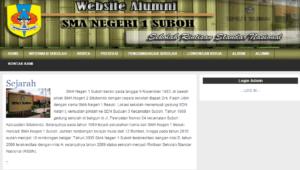 website alumni dengan php