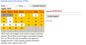 agenda-php