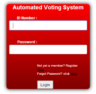 automated voting system