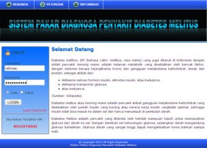 sistem pakar diabetes melitus 300x215 - Download Source Code Sistem Pakar Penyakit Diabetes Melitus Berbasis Web