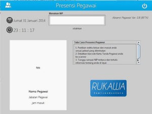 Download Source Code Aplikasi Absensi Pegawai Berbasis Java