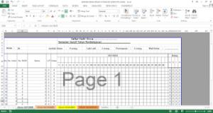 aplikasi absensi siswa excel 300x160 - Download Aplikasi Absensi Siswa Berbasis Excel