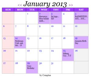 aplikasi-kalender-codeigniter