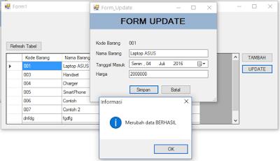 crud program using vb Table 1 sample visual basic net program files that deal with database level  objects sample program name, program description dbauthvb, how to.