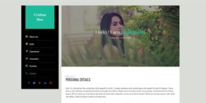 template html5 resume 300x150 - Download Template CV/Resume Berbasis Html5