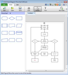 ClickCharts Diagram Flowchart Software 272x300 - Download Aneka Aplikasi Membuat Flowchart Gratis
