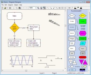 diagram designer 300x249 - Download Aneka Aplikasi Membuat Flowchart Gratis