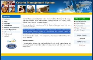 Courier Management System 01 300x194 - Download Source Code Courier Management System project in php