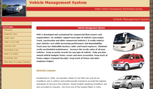 Vehicle Management Home Page java 300x175 - Vehicle Management System project in Java - Source Code Download