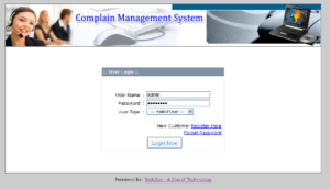 complainmgmt login 300x172 - Download Source Code Online Complain Management System : PHP Project