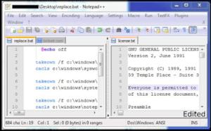 notepad text editor 300x186 - 7 Alternatif Software Code/Text Editor Gratis Untuk Programmer