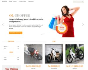 Download Source Code Toko Online Berbasis Codeigniter