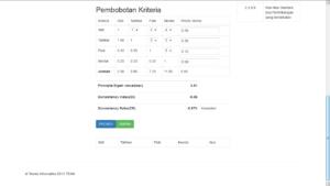 sistem pakar ahp php 3 300x169 - Source Code Aplikasi Sistem Penentu Keputusan Metode AHP Berbasis Php