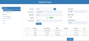 Download Source Code Aplikasi Kasir Berbasis Codeigniter