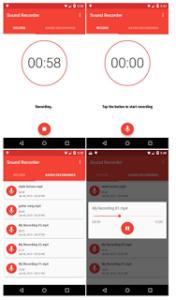 sound recorder android 176x300 - Download Source Code Aplikasi Perekam Suara Berbasis Android