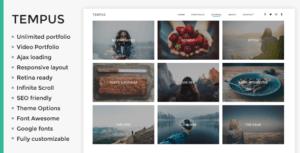 Tempus photography wordpress theme 300x153 - Download Template Wordpress - Tempus - Tema Photography