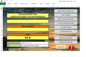 aplikasi raport smp ktsp 300x200 - Download Aplikasi Raport KTSP SMP Berbasis Excel
