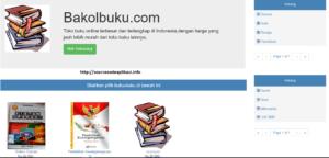 beranda toko buku online 300x144 - Download Source Code Aplikasi Toko Buku Berbasis Web