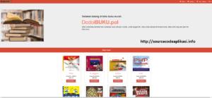 Source Code Aplikasi Toko Buku Berbasis Php  MySQL