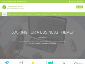 Download Template WordPress – Di Business – Multipurpose Theme