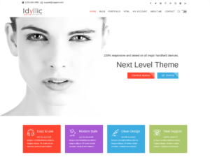 idillyc wordpress theme 300x225 - Download Template Wordpress - Idilis - Cocok Untuk Company Profile