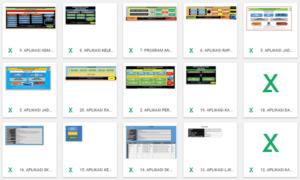 koleksi aplikasi pendidikan berbasis excel 300x180 - Download Koleksi 40 Aplikasi Pendidikan Untuk Berbagai Keperluan Sekolah