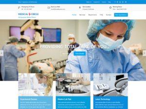 medical circle wordpress theme 300x225 - Download Template Wordpress - Medical Circle - Cocok Untuk Rumah Sakit