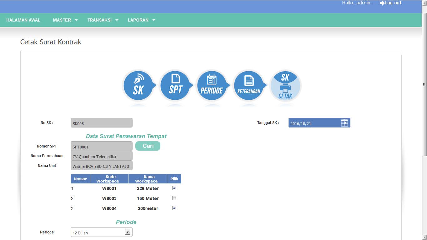 Sistem perdagangan keuangan berbasis web