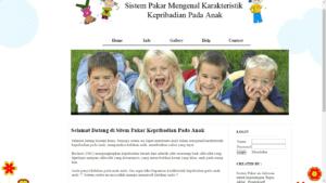 sistem pakar anak php 1 300x169 - Source Code Sistem Pakar Mengenal Karakteristik Kepribadian Anak Berbasis Php