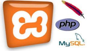 xampp apache php mysql logo 300x171 - Kumpulan Versi Aplikasi Xampp Untuk Windows XP