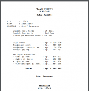 Cetak Struk Gaji Print 292x300 292x300 - Source Code Aplikasi Sistem Informasi Penggajian Berbasis Web