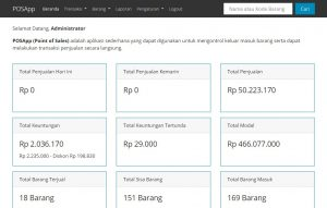 aplikasi penjualan codeigniter 2 300x191 - Source Code Aplikasi Penjualan (Point of Sale) Untuk Toko Berbasis Codeigniter