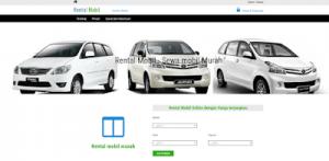Source Code Aplikasi Rental Mobil Berbasis Web Menggunakan Php  MySQLi