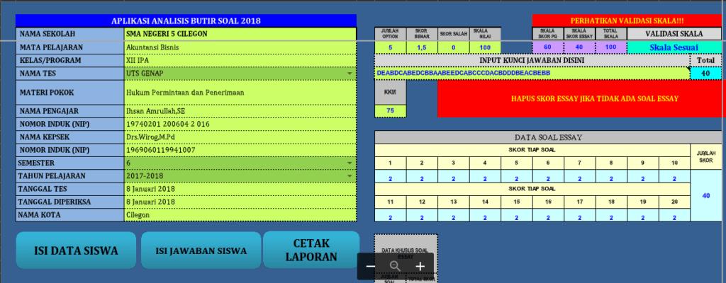 aplikasi analisis soal berbasis excel 1024x400 - Aplikasi Analisis Soal Ujian Berbasis Excel