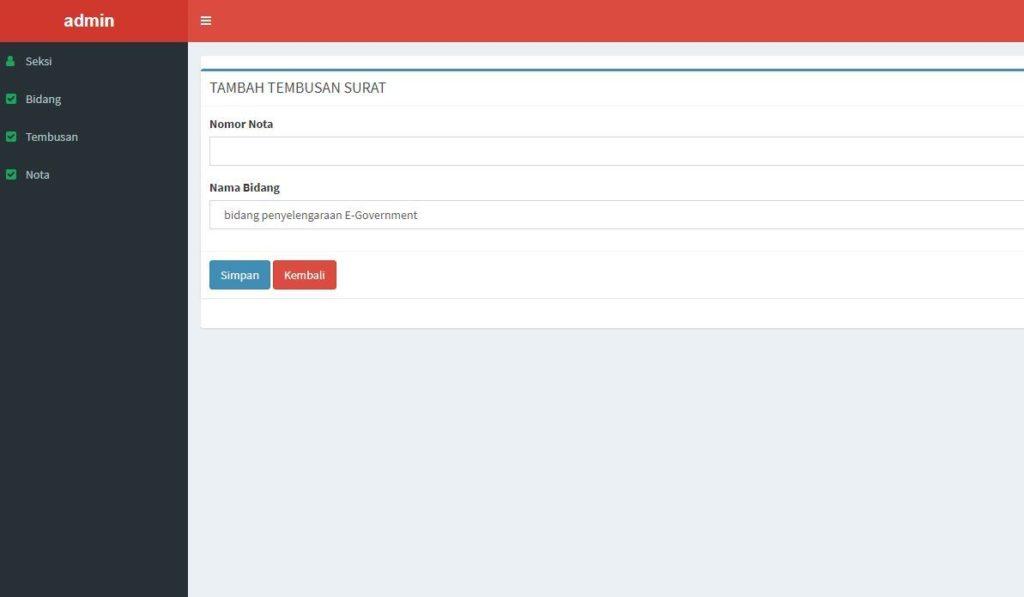 aplikasi nota surat berbasis codeigniter 2 1024x597 - Source Code Aplikasi Tembusan Surat Berbasis Codeigniter