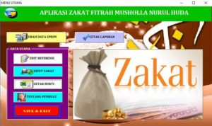 aplikasi pembayaran zakat 2 300x178 - Aplikasi Pembayaran Zakat Berbasis Excel