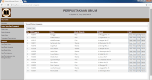 Download Source Code Sistem Informasi Perpustakaan Berbasis Php
