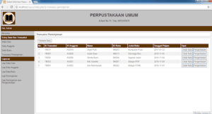 Aplikasi Perpustakaan Dengan PHP dan MySql 2 300x162 - Download Source Code Sistem Informasi Perpustakaan Berbasis Php
