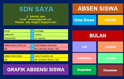 aplikasi absensi berbasis excel - Download Aplikasi Input  Absensi  Berbasis Excel
