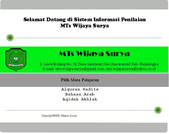 aplikasi nilai siswa berbasis php 2 - Free Download Source Code Sistem Informasi Nilai Siswa Online  Berbasis Web Dengan Php