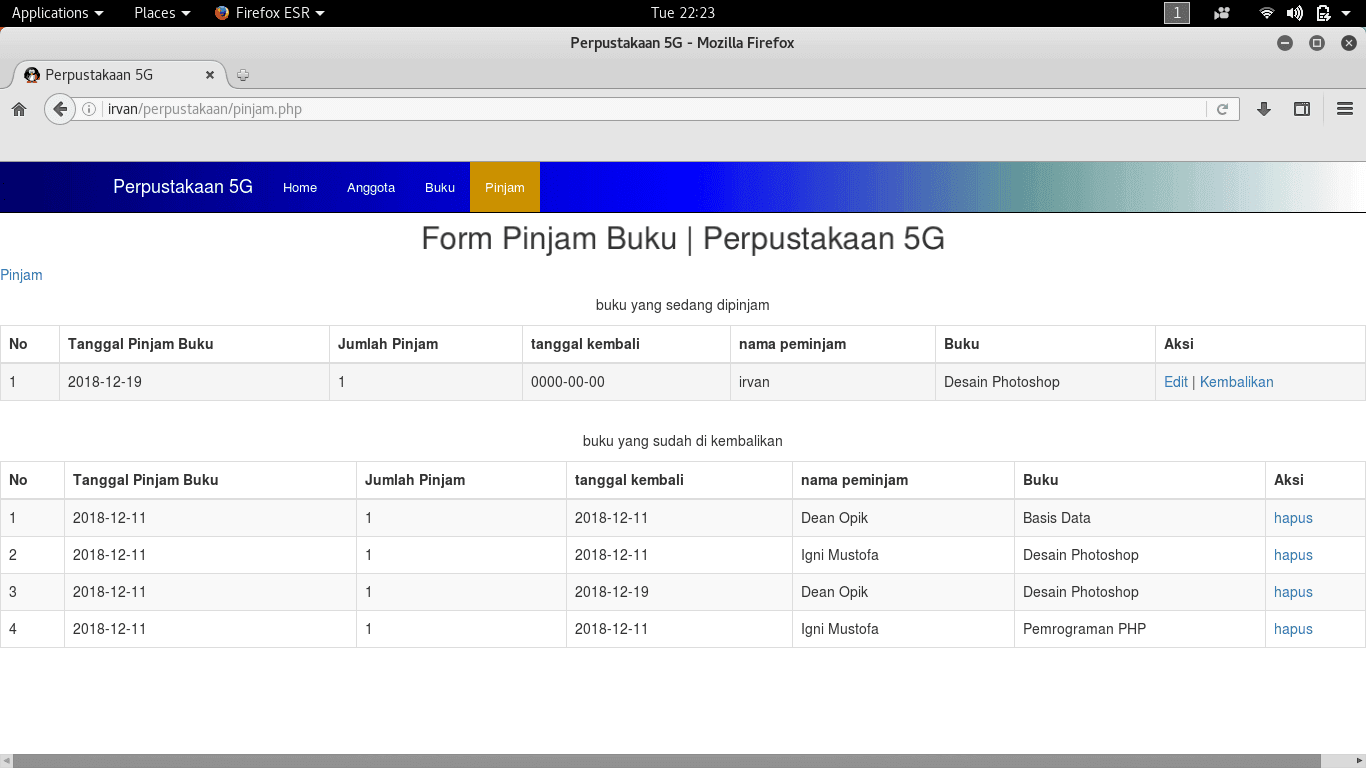 aplikasi perpustakaan berbasis php - Download Source Code Program Perpustakaan   Berbasis Web