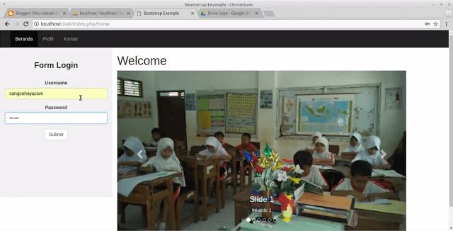 siakad sekolah php 1 - Source Code Aplikasi Sistem Informasi Akademik Sekolah   Dengan Menggunakan Codeigntier