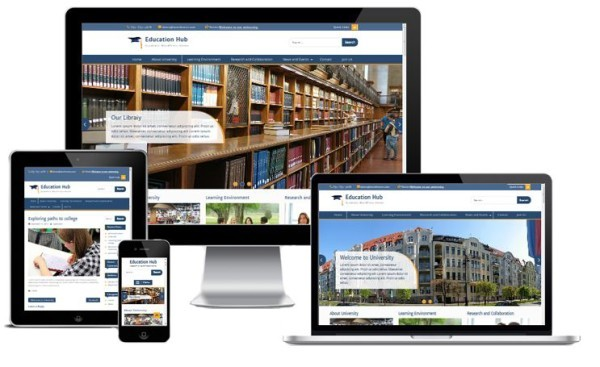 education hub - 10 Template Wordpress Untuk Website Universitas Gratis