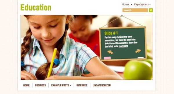education - Download Gratis 10 Template Wordpress Untuk Website Sekolah