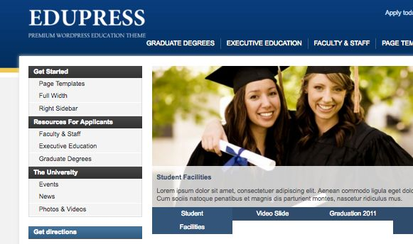 edupress - Download Gratis 10 Template Wordpress Website Universitas Indonesia