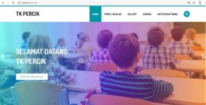 Source Code Website Profile Sekolah Taman Kanak-Kanak Berbasis Php